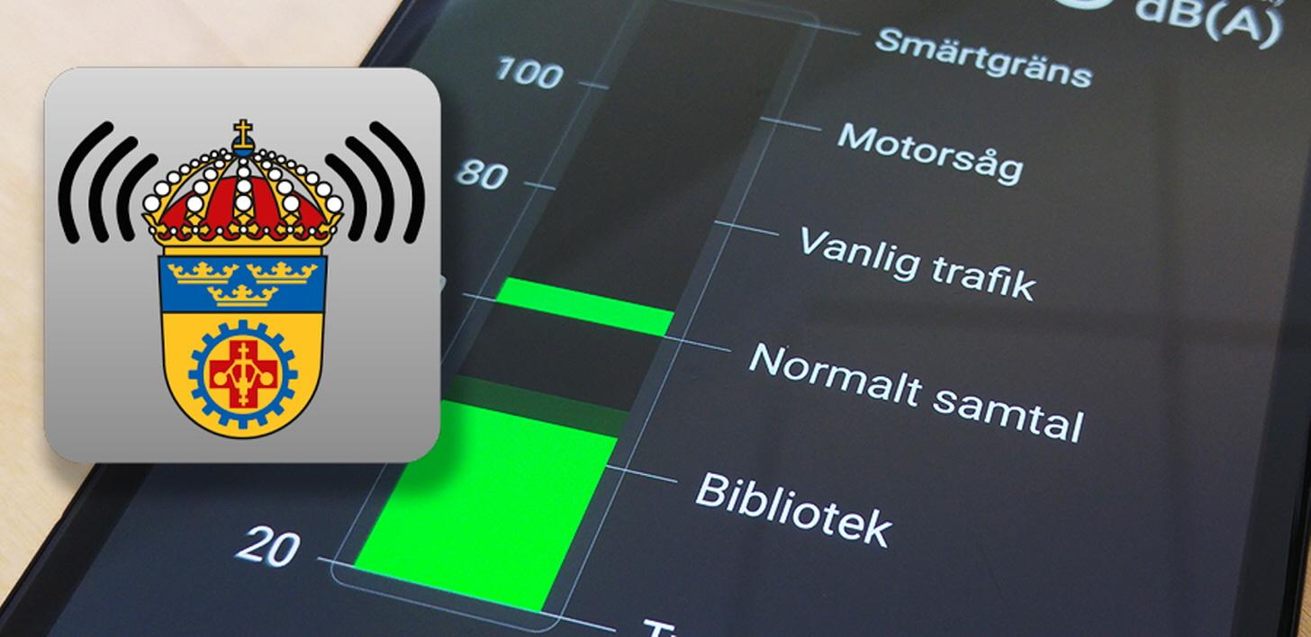 Noise Exposure App - Arbetsmiljöverket